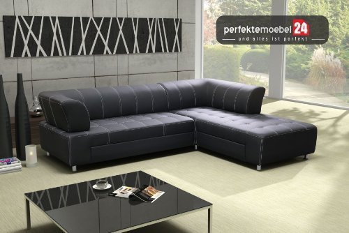 BOLZANO Couch mit Schlaffunktion Eckcouch Sofa Polster Ecke Wohnlandschaft (nebrasca)