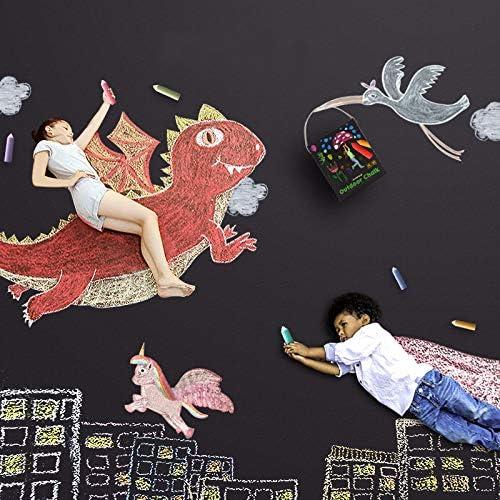 Printemps Trottoir Craie SwissWell 20 PCS Craie pour Enfants Graffiti Stylo Pinceau Crayon de Couleur Tout-Petits en Plein air c/ôt/é Promenade /à lext/érieur de lall/ée Panier de P/âques Stuffers