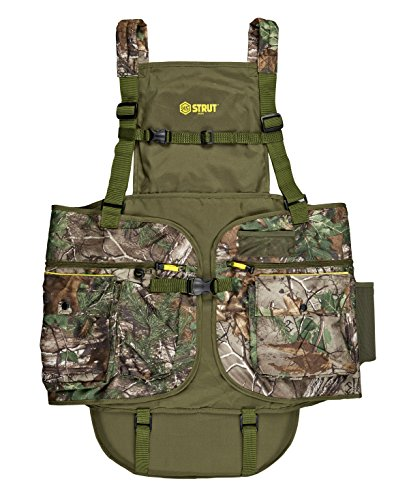 Hunters Specialties H.S. Strut Turkey Vest, Realtree Xtra Green, XX-Large/3X-Large