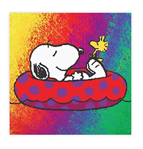 Ceaco Peanuts - Snoopy On A Raft Puzzle, 300Piece Puzzle