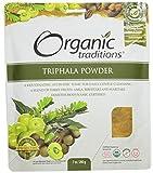 Organic Traditions Organic Powder, Triphala, 7 Ounce