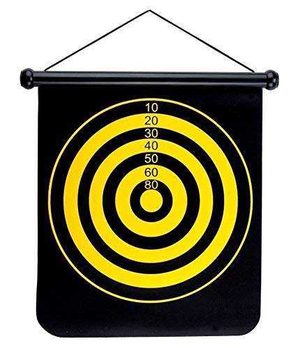 Abhsant Safety Magnetic Dartboard Game Set - 17 Inch Dart Board with 6 Magnet Darts for Kids and Adults, Gift for Game Room, Office, Indoor, Outdoor,Man Cave and Home, Include 6pcs Dart Flights (B07W3M13KL) Amazon Price History, Amazon Price Tracker
