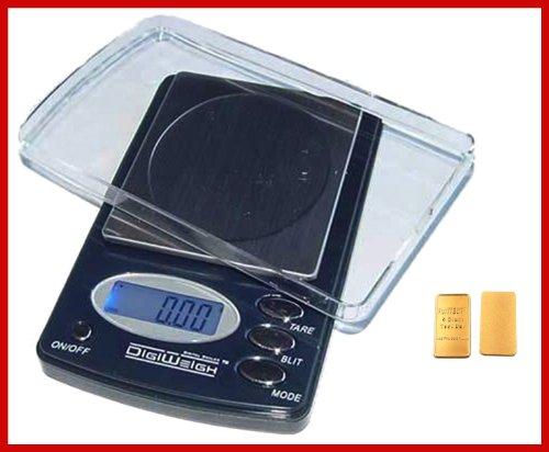 Amazon.com: DigiWeigh Báscula Digital 1000 x 0,1 g para ...
