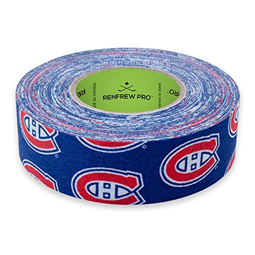 Renfrew NHL Team Cloth Hockey Tape (Montreal Canadiens) (Montreal Nhl Hockey)