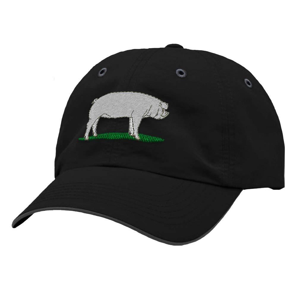 Custom Richardson Running Cap Chester White Embroidery Animal Name Polyester Hat