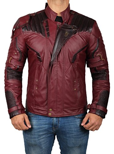 Galaxy Costume Leather Mens Jacket | L]()