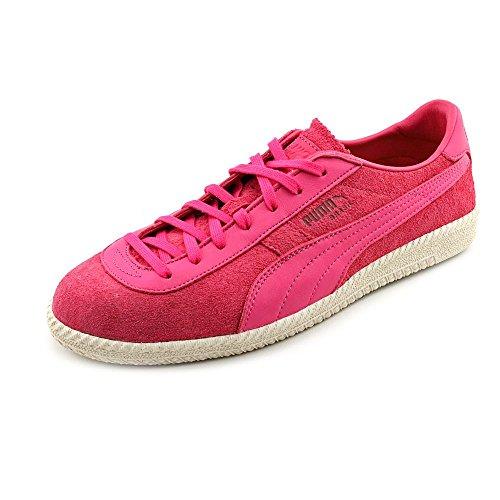 Puma Brazilië Mmq Heren Maat 12 Roze Suede Sneakers Schoenen Uk 11