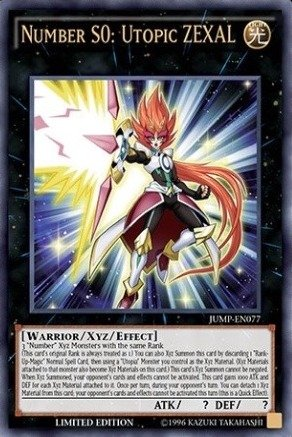 yu gi oh zexal number cards - 8