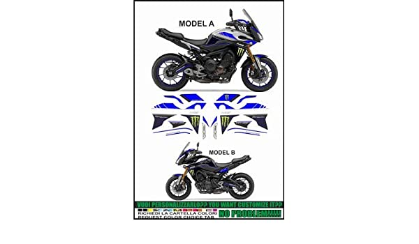 Emanuel & Co MT 09 FJ 09 Tracer 900 2015-2017 GP Tribute: Amazon.es: Coche y moto