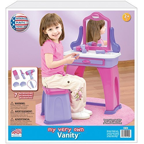 American Plastic Toys My Very Own Vanity Play Set with
