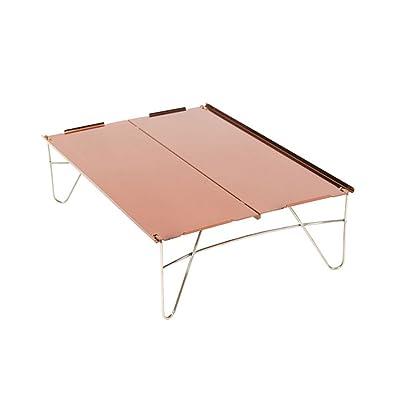 CampHiking® Table de camping pliable portable ultra Light Mini table d'extérieur avec sac de transport pour camping barbecue de table