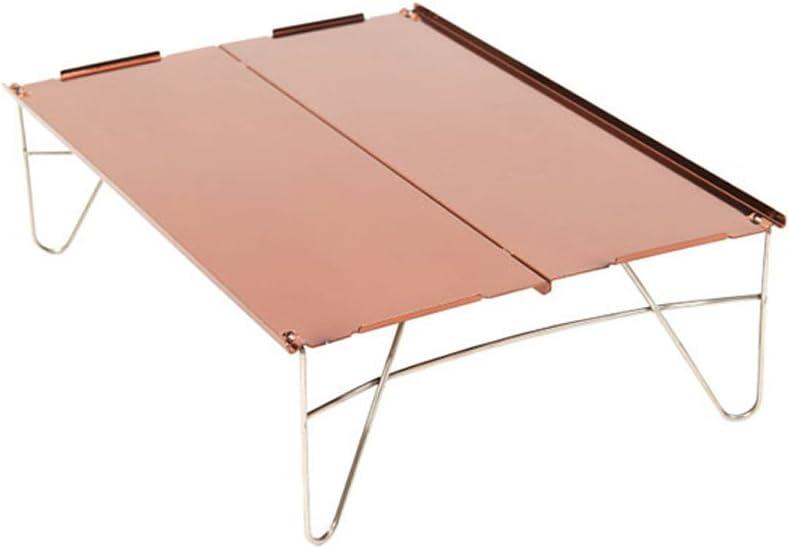 barbecue de camping pliant Table Hjuns/® Portable Ultra l/éger en alliage daluminium pour bureau de pique-nique avec sac de transport