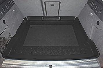 erh/öhte Ladefl/äche Kofferraumwanne mit Anti-Rutsch passend f/ür Audi Q3 auch Quattro 08//2011 mit Notrad
