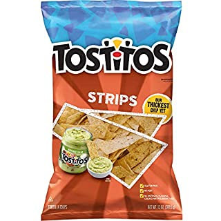 Tostitos Strips Tortilla Chips, 13oz Bag