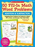 50 Fill-In Math Word Problems, Bob Krech and Joan Novelli, 0545074819