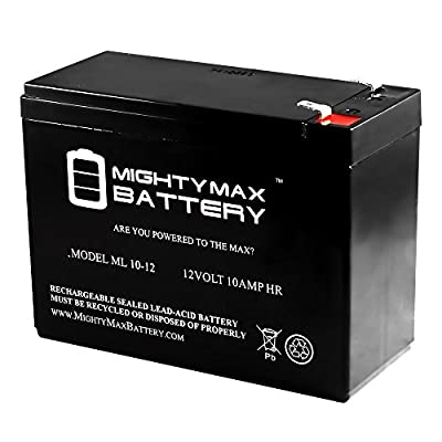 12V 10AH SLA Battery for Peak 750 Amp Jump-Starter w/Inflator - Mighty Max Battery brand product