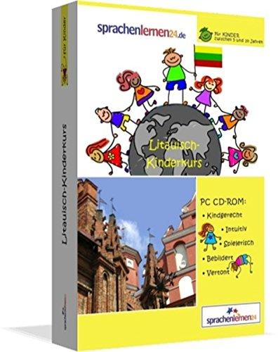 Litauisch-Kindersprachkurs von Sprachenlernen24: Kindgerecht bebildert und vertont für ein spielerisches Litauischlernen. Ab 5 Jahren. PC CD-ROM für Windows 10,8,7,Vista,XP / Linux / Mac OS X