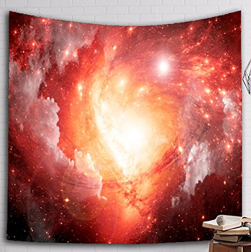Multi-size Galaxy Wall Hanging Tapestry Mural Decoration LivebyCare Tablecloth Lightweight Fabric Decorative Wall Tapestries Decor Art Beach Towel Table Cloth Cover for Men Women Study Room