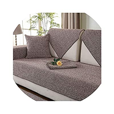 2018 New Polyester Sofa Covers Decorative Sofa Towels for sectional Sofa Anti-Slip Couch slipcovers Armchair Furniture Protector,8,70x210cm