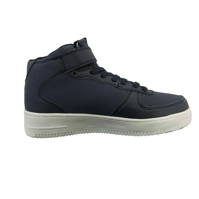 Kappa scarpe sportive unisex 1326 - Sneaker da ginnastica, Blu, Pelle-Camoscio (38)