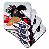 3dRose cst_2870_3 Skateboard Shoes Ceramic Tile