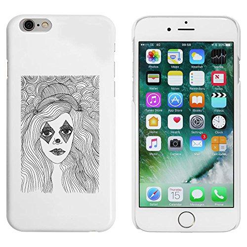 Blanc 'Fille avec Maquillage' étui / housse pour iPhone 6 & 6s (MC00003890)