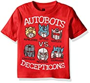 Transformers Boys' Graphic Short Sleeve T-Shirt