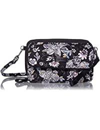 Women's Signature Cotton All in One Crossbody Purse with RFID Protection