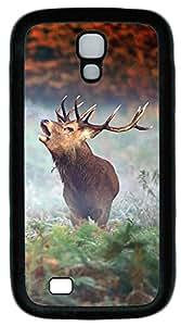 Samsung Galaxy S4 I9500 Cases & Covers - Elk Custom TPU Soft Case Cover Protector for Samsung Galaxy S4 I9500 - Black