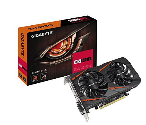 Gigabyte Radeon RX 550 Gaming OC 2GB Graphic Cards GV-RX550GAMINGOC-2GD -  GV-RX550GAMING OC-2GD