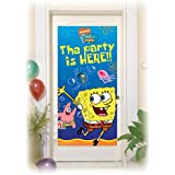 Amscan Banner Door Licensed Spongebob Party Accessory