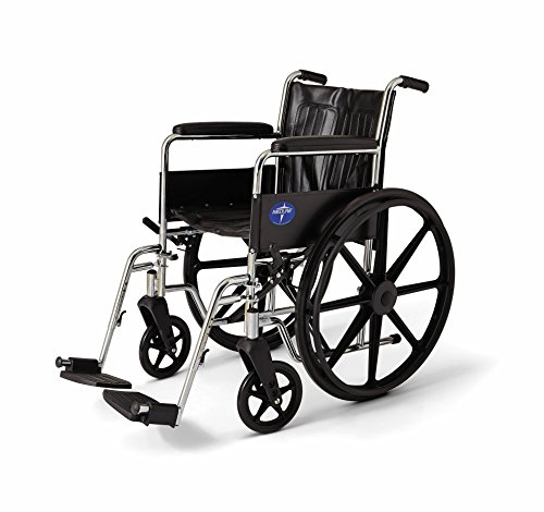 Medline Wheelchair Length Permanent Footrests