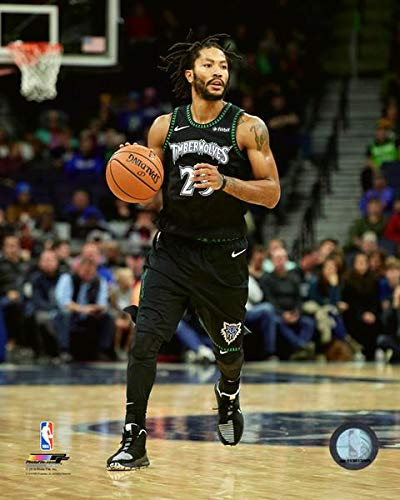 95b0fe75e Image Unavailable. Image not available for. Color  Derrick Rose Minnesota  Timberwolves 2018-2019 NBA ...
