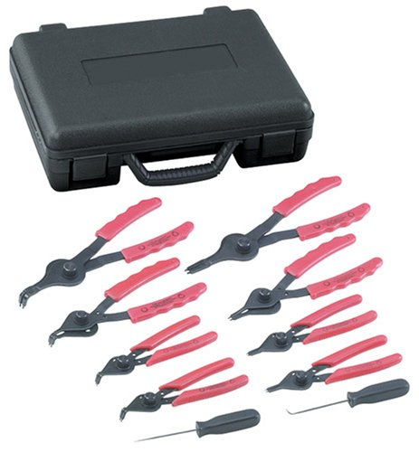 OTC 4512 Stinger Internal And External 8 Piece Snap-Ring Pliers Set