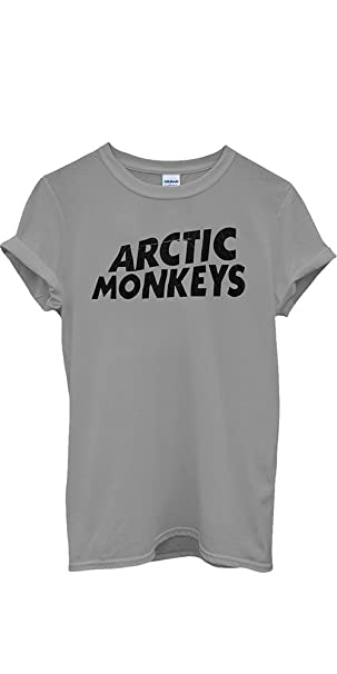 Arctic Monkeys T-shirt Rock Band New Men Women Unisex Top T Shirt-S