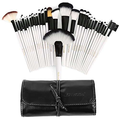 Hotrose® 32 Pcs Professional Makeup Brush Set with a Free PU Leather Bag 51ywKuKzPiL