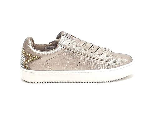 liu jo - Zapatillas para niña dorado Platino dorado Size: 36: Amazon.es: Zapatos y complementos