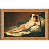 Design Toscano The Nude Maja (La Maja Desnuda), 1800, Canvas Replica Painting: Small