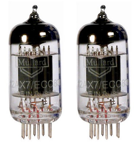 Mullard 12AX7/ECC83, Matched Pair