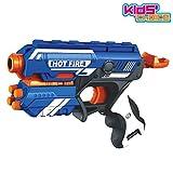 Kids Choice Blaze Storm Soft Bullet Gun Toy with 10 Safe Soft Foam Bullets (T7036)