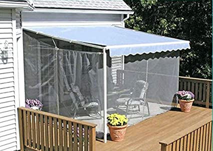 Mosquito Netting House Yard Lawn Garden Awning Canopy Patio Enclosure Tent  (10x8x8ft.)