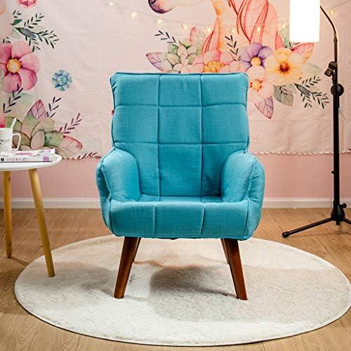 Chaise canapé Loisir Chaise de Salle Chambre Salon Balcon Café Fauteuil Chaise pour Femme Enceinte Chaise Dossier Pliable Chaises de Table à Manger