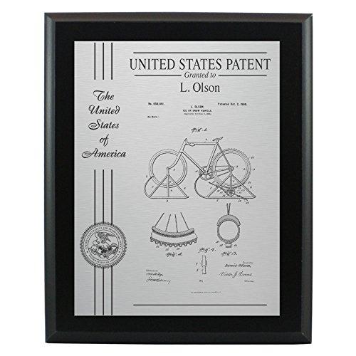 Patent Plaque Award - 10.5