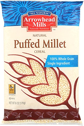 Arrowhead Mills Cereal, Puffed Millet, 6 oz. Bag