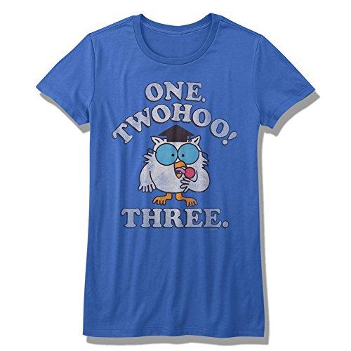 Tootsie Roll - Womens Twohoo! T-Shirt, Size: Medium, Color: Royal ()