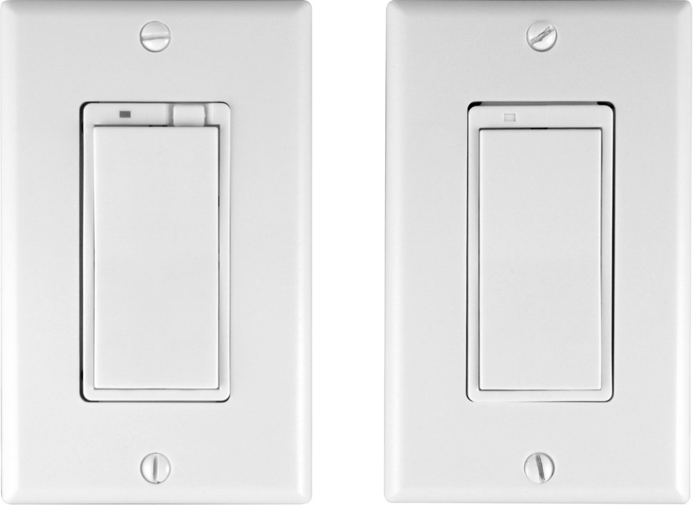 GE 45613 Z-Wave Technology 3-Way Dimmer Switch Kit (White) 45713
