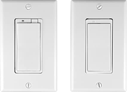 GE 45613 Z-Wave Wireless Lighting Control Three-Way Dimmer Kit ...