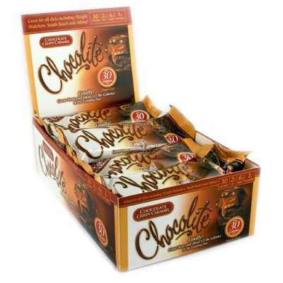 CHOCOLITE BAR,CHOC CRISPY CARAMEL, 2/.84 OZ CASE_16