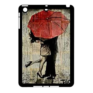 Unique draw Loui Jover Pen and Ink drawing Hard Plastic phone Case Cover For Ipad Mini2 Case ZDI120310