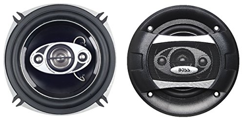 BOSS Audio P55.4C 300 Watt (Per Pair), 5.25 Inch, Full Range, 4 Way Car Speakers (Sold in Pairs) (1993 Cadillac Eldorado A/c)